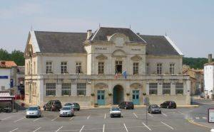La mairie de La Mothe saint-Héray